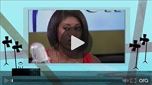 Zakiya Smith on Larry King Live