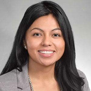 Photo of Wendy Lopez smiling.