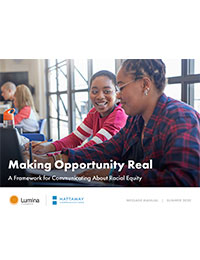 Cover image for Making Opportunity Real.
