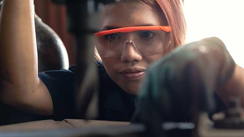 Female Engineer, stock photo.