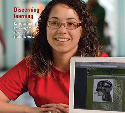 Student Layla Quinones is featured on the Winter 2011 issue of Lumina Foundation Focus magazine.