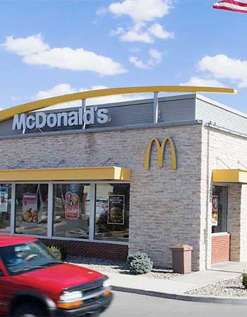 McDonald's location where George Saliba is owner and operator.