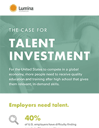 Talent Investment Infographic cover