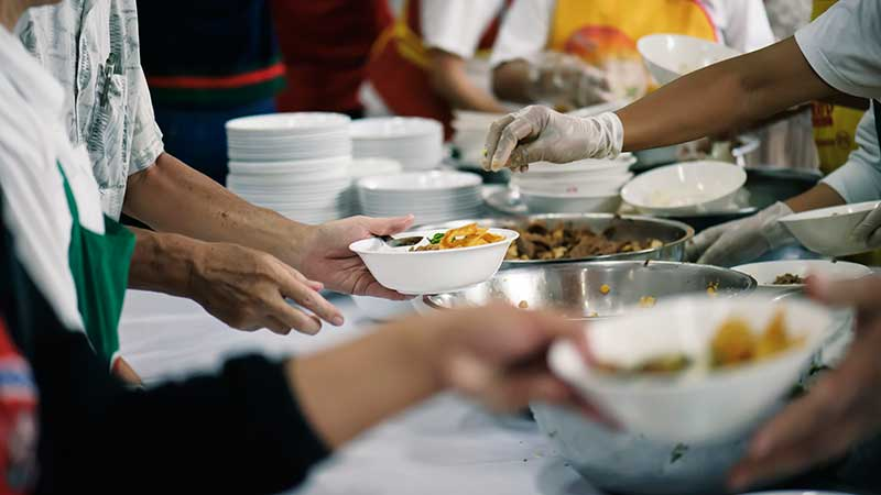 Volunteers, stock photo