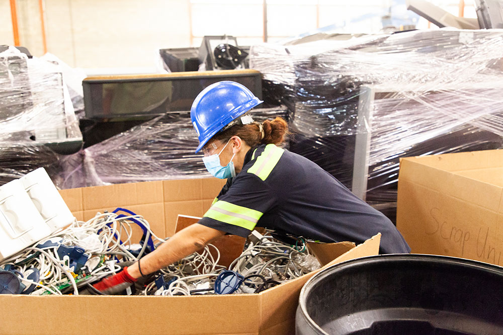 RecycleForce helps ex-offenders repurpose their lives through work