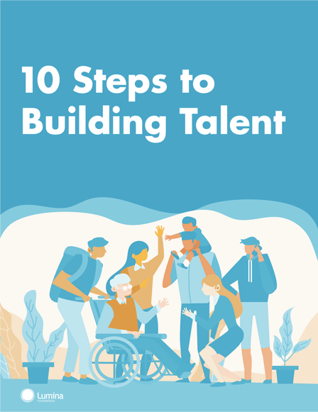 10 Steps to Building Talent Cover