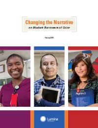 Borrowers of Color report cover