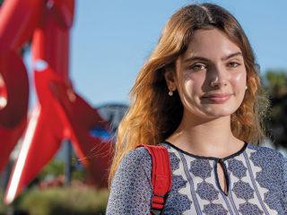 "Daniela Figueroa on her ""new"" campus at Florida International University."